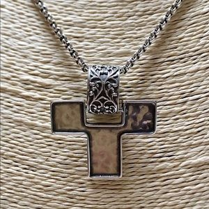 VGD/EUC SILPADA Sterling Cross Pendant Necklace 2